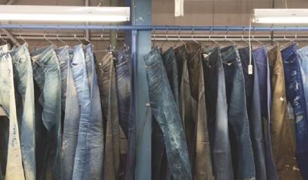 製品加工 Garment processing